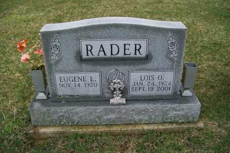 RADER, LOIS O. - Logan County, Ohio | LOIS O. RADER - Ohio Gravestone Photos