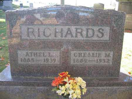 RICHARDS, ATHEL L. - Logan County, Ohio | ATHEL L. RICHARDS - Ohio Gravestone Photos