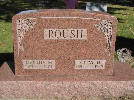 ROUSH, CLEVE H. - Logan County, Ohio | CLEVE H. ROUSH - Ohio Gravestone Photos