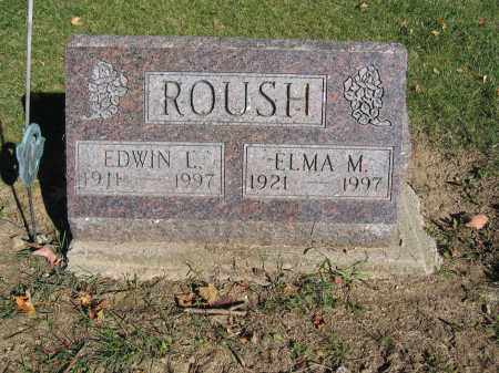 ROUSH, EDWIN L. - Logan County, Ohio | EDWIN L. ROUSH - Ohio Gravestone Photos