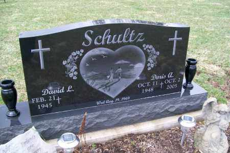 SCHULTZ, DAVID L. - Logan County, Ohio | DAVID L. SCHULTZ - Ohio Gravestone Photos