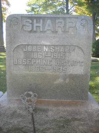 SHARP, JOSEPHINE - Logan County, Ohio | JOSEPHINE SHARP - Ohio Gravestone Photos