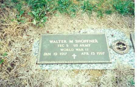 SHOFFNER, WALTER M - Logan County, Ohio | WALTER M SHOFFNER - Ohio Gravestone Photos