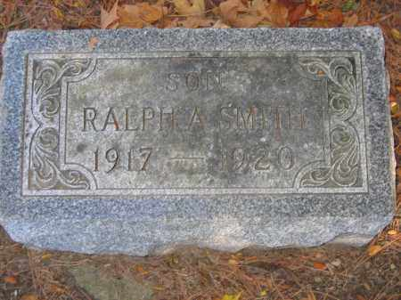 SMITH, RALPH A. - Logan County, Ohio | RALPH A. SMITH - Ohio Gravestone Photos