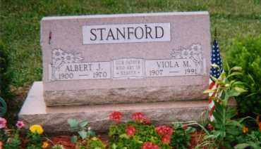 SNYDER STANFORD, VIOLA MAY - Logan County, Ohio | VIOLA MAY SNYDER STANFORD - Ohio Gravestone Photos