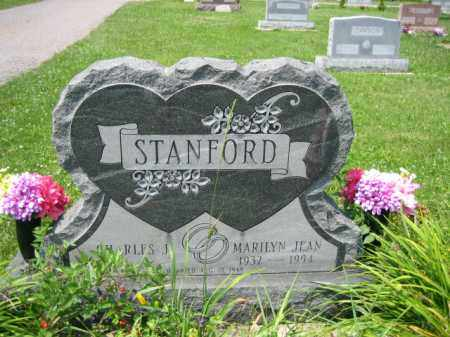 LEE STANFORD, MARILYN JEAN - Logan County, Ohio | MARILYN JEAN LEE STANFORD - Ohio Gravestone Photos