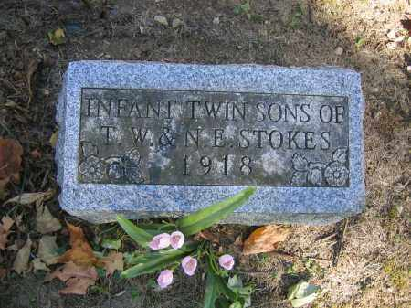 STOKES, INFANT TWIN SONS - Logan County, Ohio | INFANT TWIN SONS STOKES - Ohio Gravestone Photos