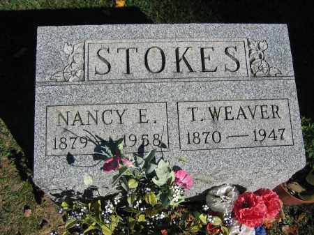 STOKES, T. WEAVER - Logan County, Ohio | T. WEAVER STOKES - Ohio Gravestone Photos