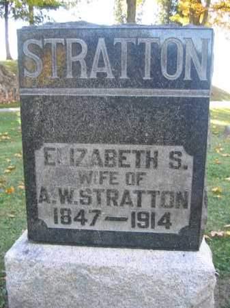 STRATTON, ELIZABETH S. - Logan County, Ohio | ELIZABETH S. STRATTON - Ohio Gravestone Photos