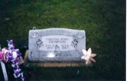 THOMPSON, CHRISTINA RENEA - Logan County, Ohio | CHRISTINA RENEA THOMPSON - Ohio Gravestone Photos