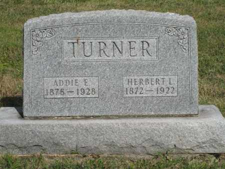 TURNER, ADDIE - Logan County, Ohio | ADDIE TURNER - Ohio Gravestone Photos