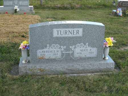 TURNER, LAWRENCE - Logan County, Ohio | LAWRENCE TURNER - Ohio Gravestone Photos