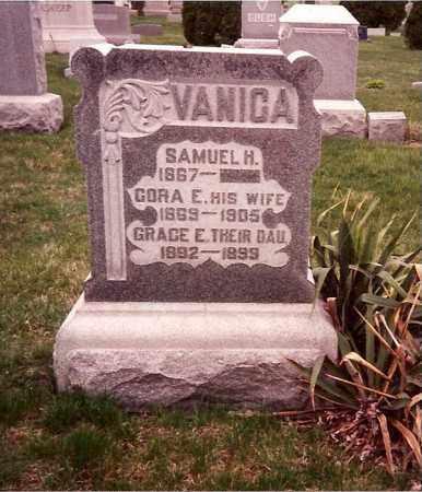 VANICA, SAMUEL H. - Logan County, Ohio | SAMUEL H. VANICA - Ohio Gravestone Photos