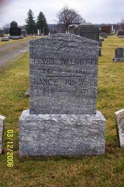 WALCOTT, NANCY - Logan County, Ohio | NANCY WALCOTT - Ohio Gravestone Photos