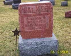 WALKER, MARY A. - Logan County, Ohio | MARY A. WALKER - Ohio Gravestone Photos