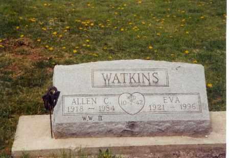 WATKINS, ALLEN COLEMAN - Logan County, Ohio | ALLEN COLEMAN WATKINS - Ohio Gravestone Photos