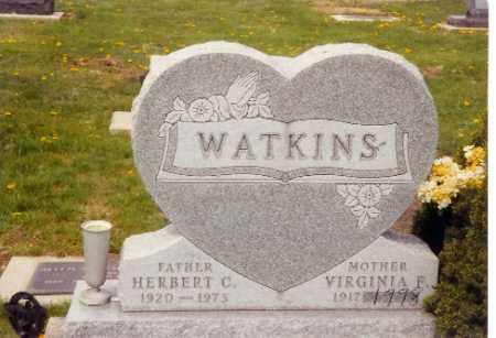 WATKINS, HERBERT CHARLES - Logan County, Ohio | HERBERT CHARLES WATKINS - Ohio Gravestone Photos