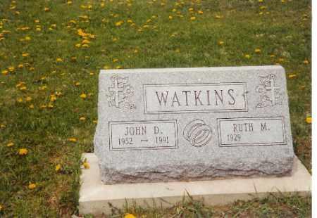WATKINS, JOHN D. - Logan County, Ohio | JOHN D. WATKINS - Ohio Gravestone Photos