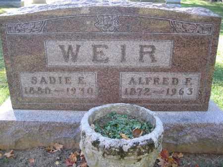 WEIR, ALFRED F. - Logan County, Ohio | ALFRED F. WEIR - Ohio Gravestone Photos