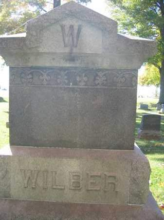 WILBER, ADELAIDE - Logan County, Ohio | ADELAIDE WILBER - Ohio Gravestone Photos
