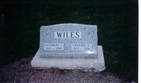 WILES, CRYSTAL E. - Logan County, Ohio | CRYSTAL E. WILES - Ohio Gravestone Photos