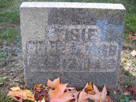 WIRICK, JOSIE - Logan County, Ohio | JOSIE WIRICK - Ohio Gravestone Photos