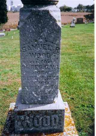 WOOD, SAMUEL R - Logan County, Ohio | SAMUEL R WOOD - Ohio Gravestone Photos