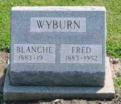WYBURN, BLANCHE - Logan County, Ohio | BLANCHE WYBURN - Ohio Gravestone Photos