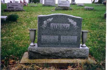 YOUNG, MARTHA L. - Logan County, Ohio | MARTHA L. YOUNG - Ohio Gravestone Photos