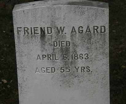 AGARD, FRIEND W. - Lorain County, Ohio | FRIEND W. AGARD - Ohio Gravestone Photos