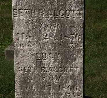 ALCOTT, SETH B. - Lorain County, Ohio | SETH B. ALCOTT - Ohio Gravestone Photos