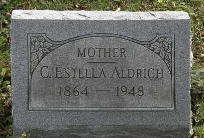 ALDRICH, C. ESTELLA - Lorain County, Ohio | C. ESTELLA ALDRICH - Ohio Gravestone Photos