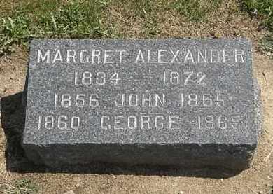 ALEXANDER, GEORGE - Lorain County, Ohio | GEORGE ALEXANDER - Ohio Gravestone Photos