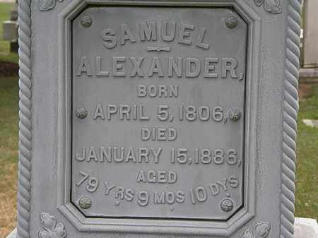 ALEXANDER, SAMUEL - Lorain County, Ohio | SAMUEL ALEXANDER - Ohio Gravestone Photos