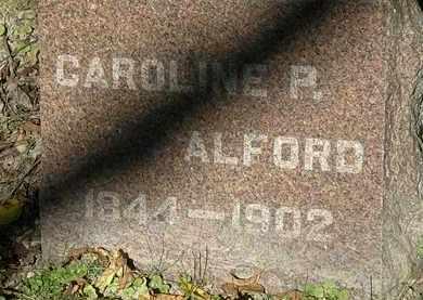 ALFORD, CAROLINE P. - Lorain County, Ohio | CAROLINE P. ALFORD - Ohio Gravestone Photos