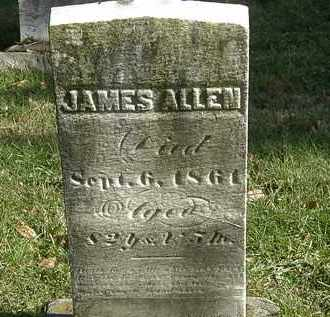 ALLEN, JAMES - Lorain County, Ohio | JAMES ALLEN - Ohio Gravestone Photos