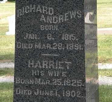 ANDREWS, HARRIET - Lorain County, Ohio | HARRIET ANDREWS - Ohio Gravestone Photos