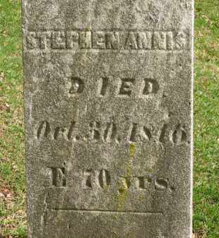 ANNIS, STEPHEN - Lorain County, Ohio   STEPHEN ANNIS - Ohio Gravestone Photos