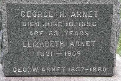 ARNET, ELIZABETH - Lorain County, Ohio | ELIZABETH ARNET - Ohio Gravestone Photos
