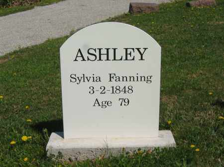 FANNING ASHLEY, SYLVIA - Lorain County, Ohio | SYLVIA FANNING ASHLEY - Ohio Gravestone Photos
