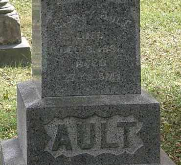 AULT, SIDNEY - Lorain County, Ohio | SIDNEY AULT - Ohio Gravestone Photos