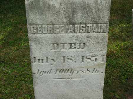 AUSTAIN, GEORGE - Lorain County, Ohio | GEORGE AUSTAIN - Ohio Gravestone Photos