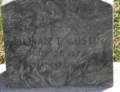 AUSTIN, LILLIAN T. - Lorain County, Ohio | LILLIAN T. AUSTIN - Ohio Gravestone Photos