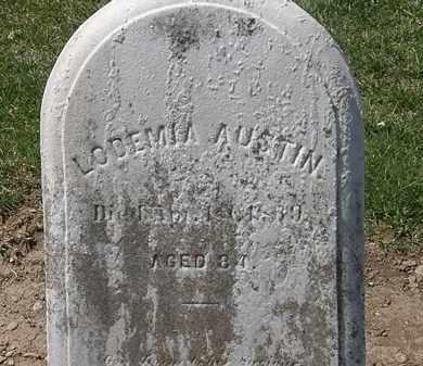 AUSTIN, LODEMIA - Lorain County, Ohio | LODEMIA AUSTIN - Ohio Gravestone Photos