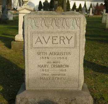 AVERY, MARY - Lorain County, Ohio | MARY AVERY - Ohio Gravestone Photos