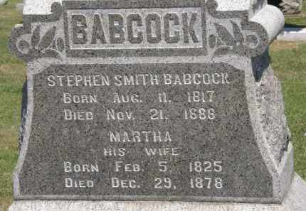 BABCOCK, MARTHA - Lorain County, Ohio | MARTHA BABCOCK - Ohio Gravestone Photos