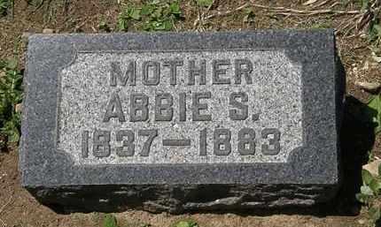 BACON, ABBIE S. - Lorain County, Ohio | ABBIE S. BACON - Ohio Gravestone Photos