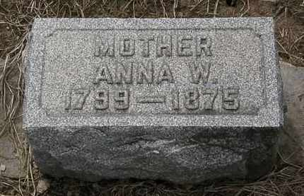 BACON, ANNA W. - Lorain County, Ohio | ANNA W. BACON - Ohio Gravestone Photos