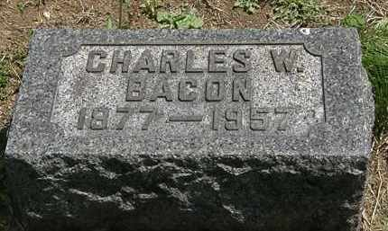 BACON, CHARLES W. - Lorain County, Ohio | CHARLES W. BACON - Ohio Gravestone Photos