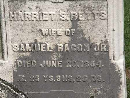 BETTS BACON, HARRIET - Lorain County, Ohio | HARRIET BETTS BACON - Ohio Gravestone Photos